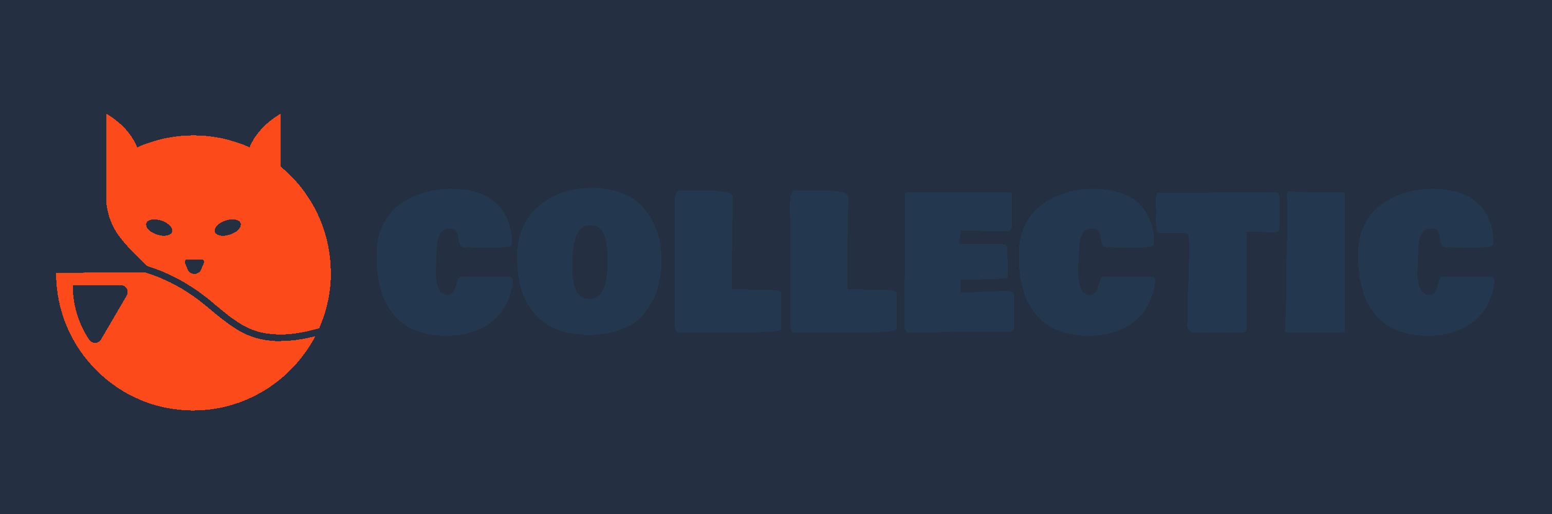 Collectic Logo - Orange Blue