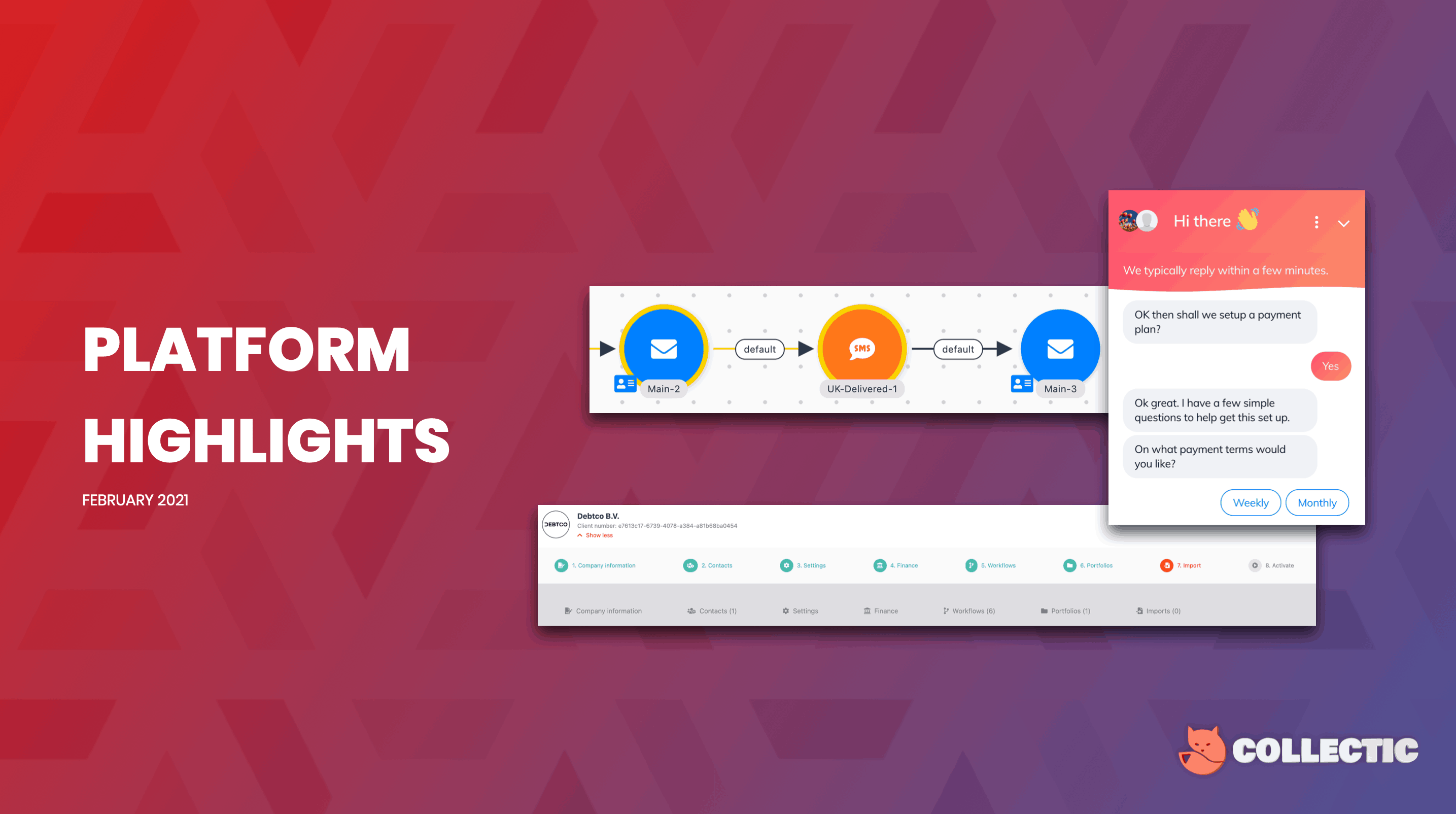 CollectIC Platform Highlights February 2021