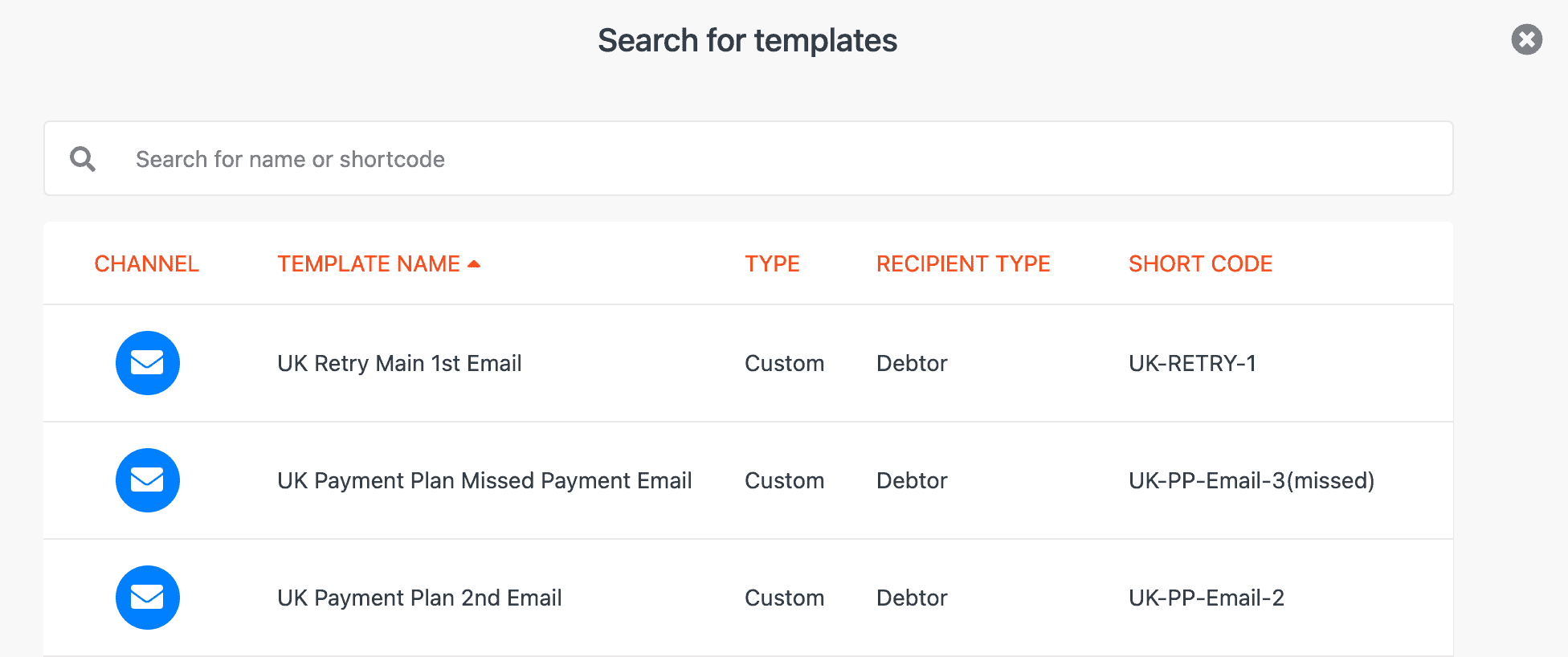 CollectIC Inbox Email template